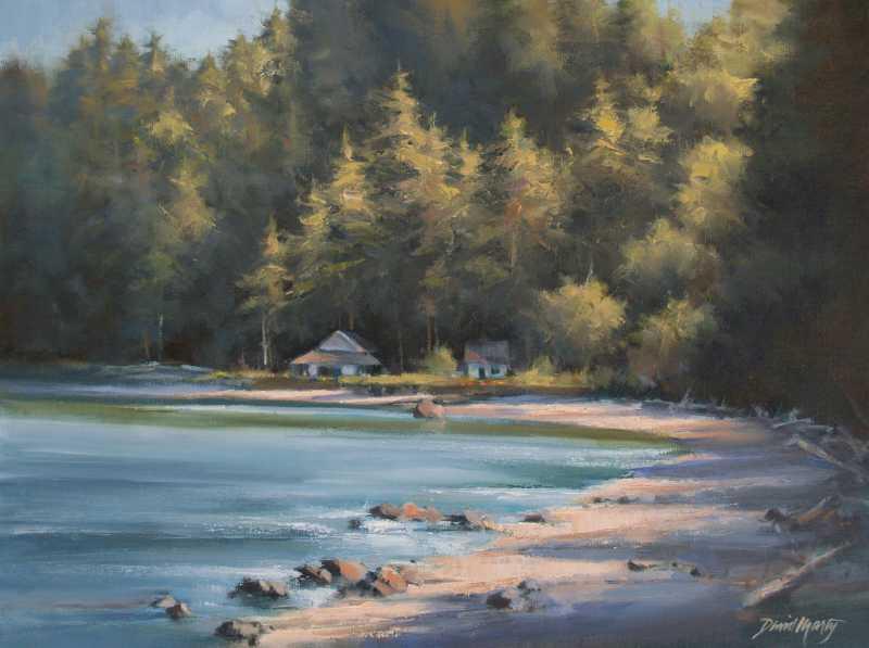 Hidden Cove by  David Marty - Masterpiece Online