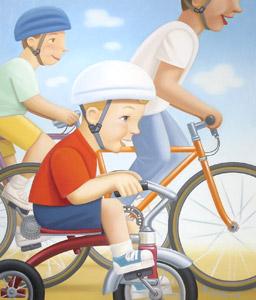 Riding Bikes  by  Daniel Kirk