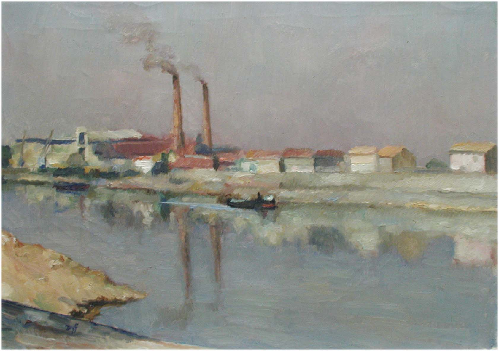 Morning Reflection by  Marcel  Dyf  - Masterpiece Online