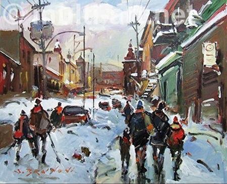 Mtl, rue marquette 18... by  Serge Brunoni - Masterpiece Online