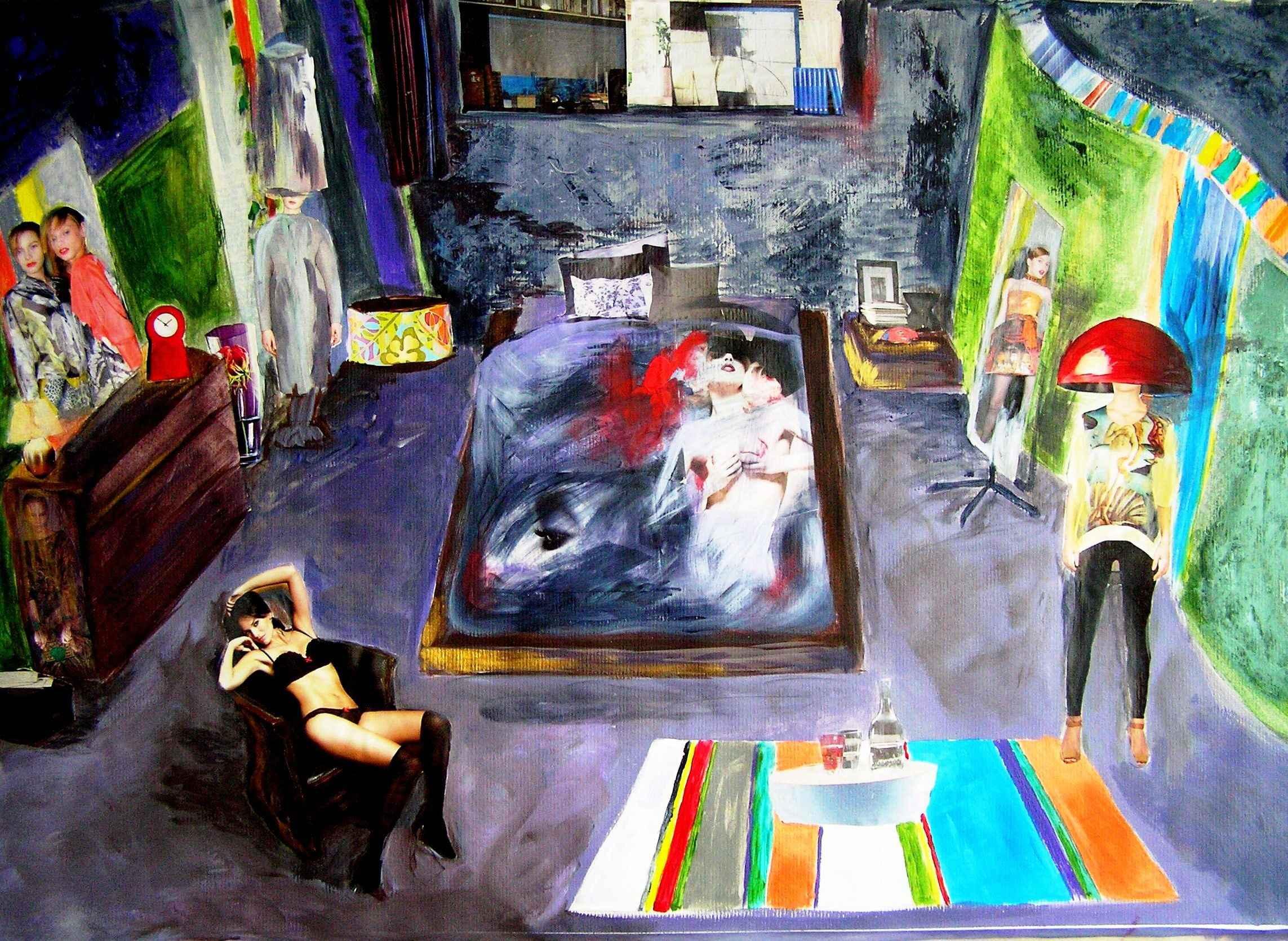 Cherche la femme by Mme Ioana JITARU - Masterpiece Online