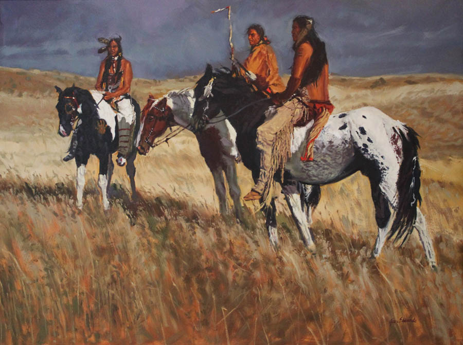 SOLD- Scouting the H... by  Glen Edwards - Masterpiece Online