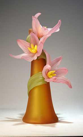 Large Sprig Vase/Stee... by  Susan Rankin - Masterpiece Online