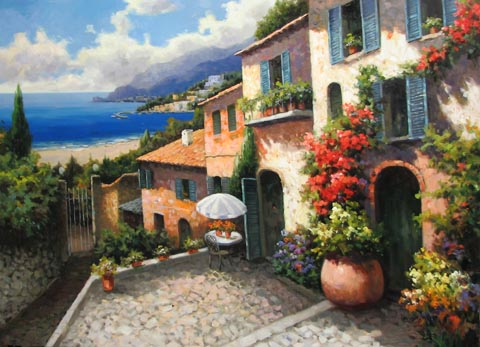 Memories of Italy by  D. S.  Kim  - Masterpiece Online