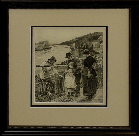 Victorian etching by ... by   Anonymous - Masterpiece Online