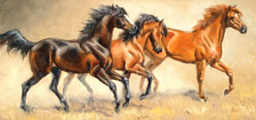 Fresh Horses by Ms. Cynthia Rigden - Masterpiece Online