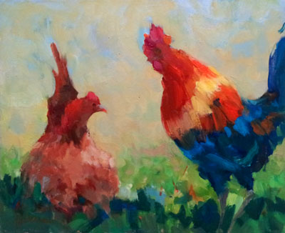 Rooster II by  Lindy  Duncan - Masterpiece Online