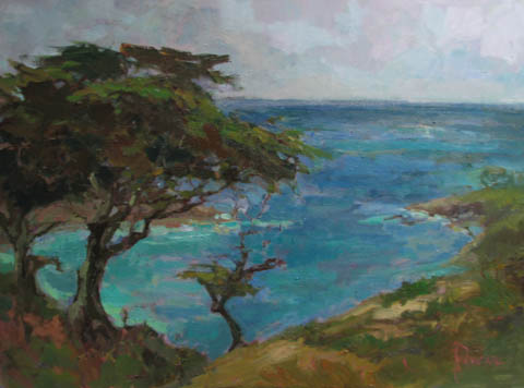 Coastal Pines by  Lindy  Duncan - Masterpiece Online