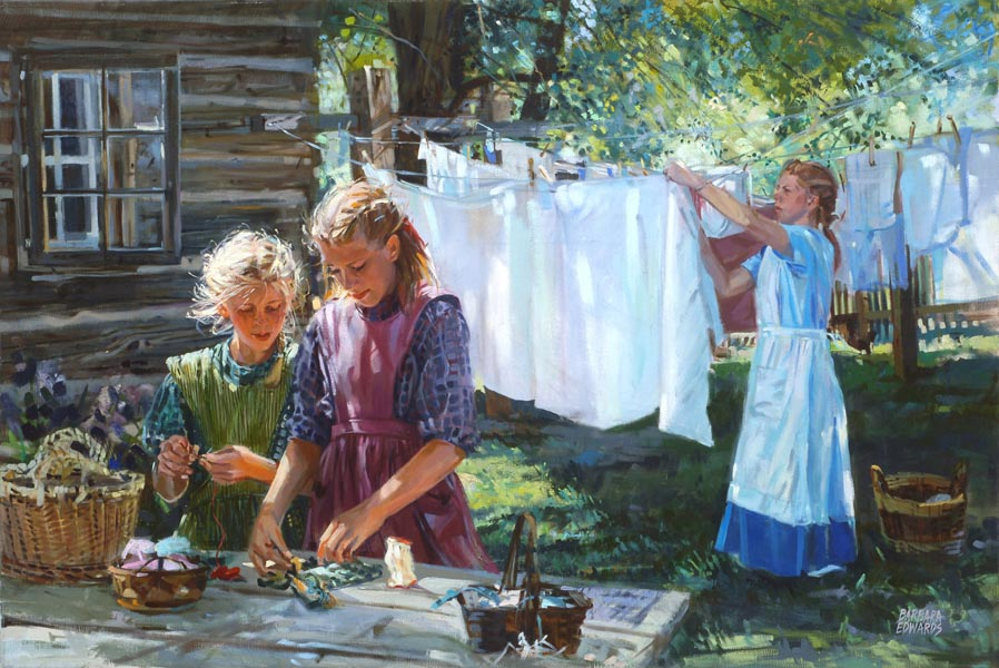 SOLD- Time Together  by  Barbara Summers Edwards