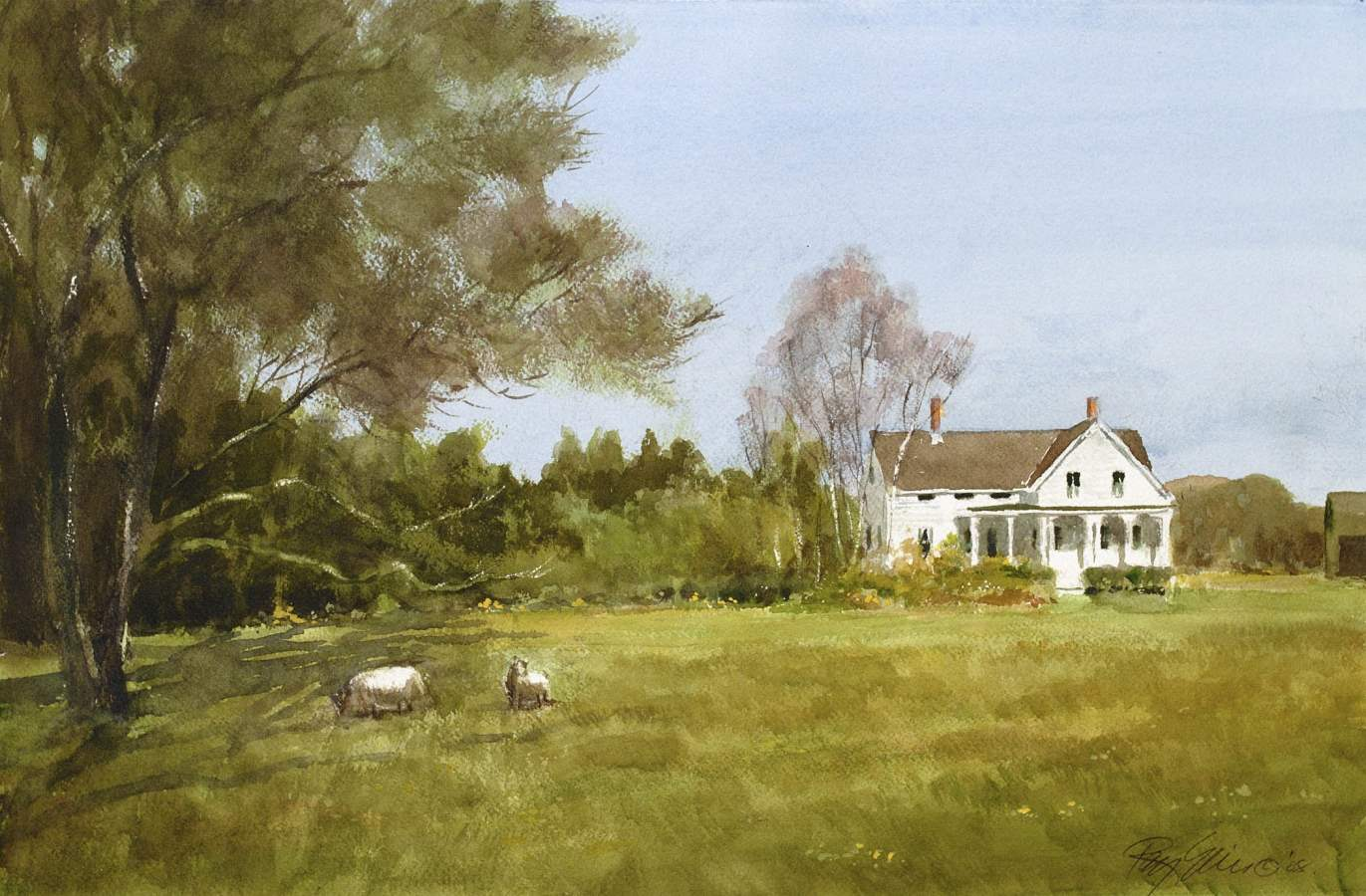 Spring at a Chilmark ... by  Ray Ellis - Masterpiece Online