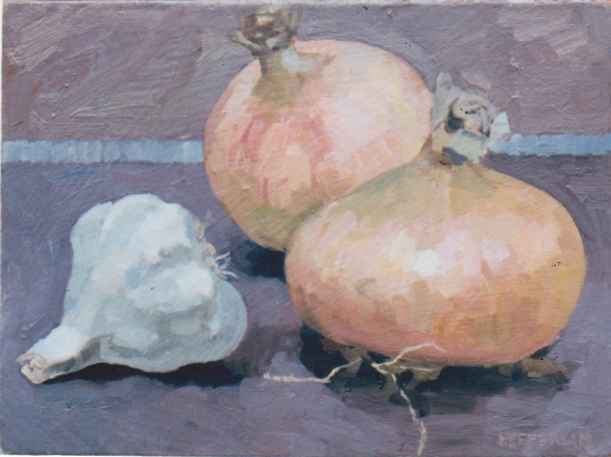 Onions and Garlic by  Melissa Hefferlin - Masterpiece Online