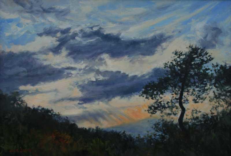 JAS026 Parkway Sunset by  Jack Stern - Masterpiece Online