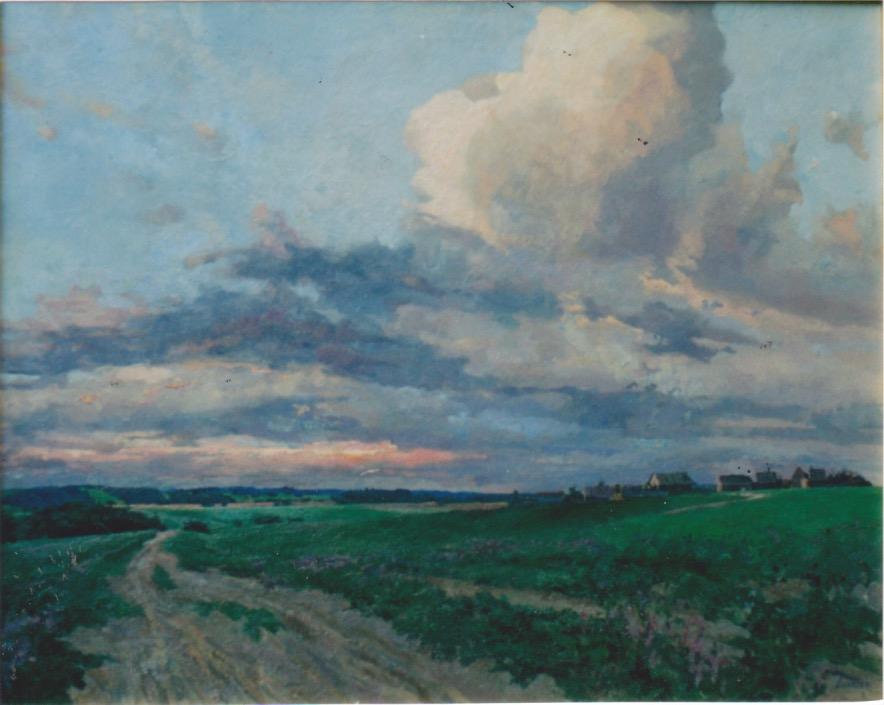 Country Road by  Daud Akhriev - Masterpiece Online