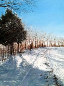 Bright Sunlight, Snow... by  Michael Wheeler - Masterpiece Online