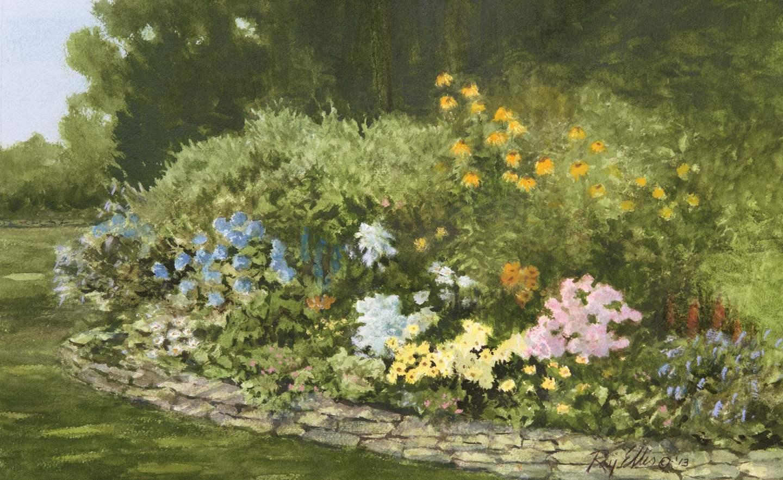 Artist's Garden by  Ray Ellis - Masterpiece Online