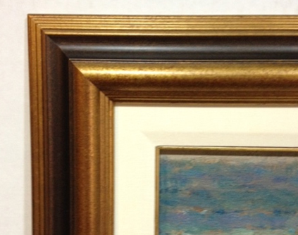 Antique Gold with Bl ... by  Fotiou Frames   - Masterpiece Online
