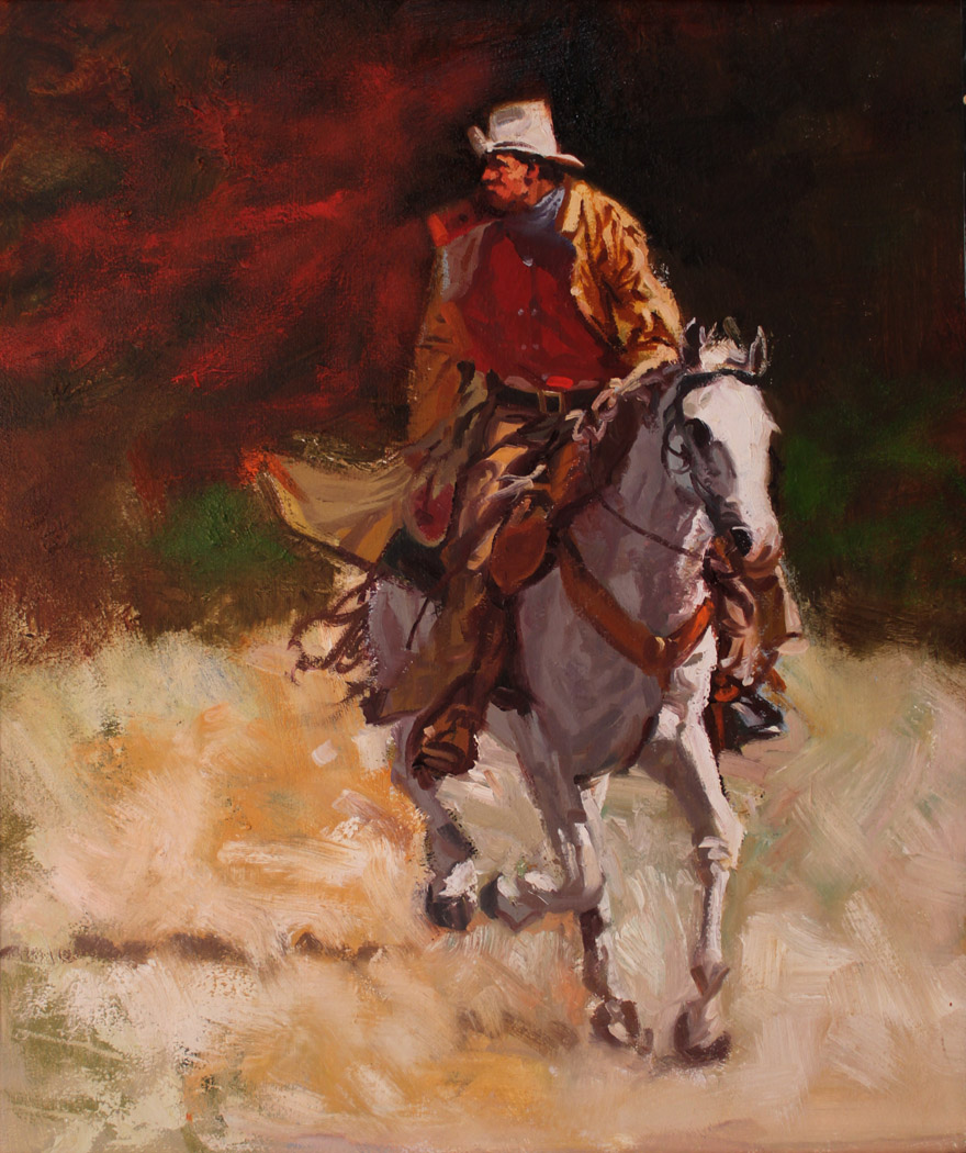 Pony Express Rider  by  Glen Edwards