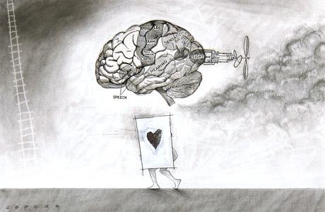 Brain And Heart  by  Joe Cepeda