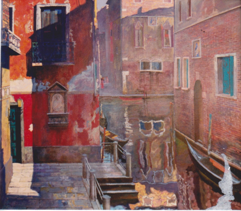 Sunset, Venice by  Daud Akhriev - Masterpiece Online