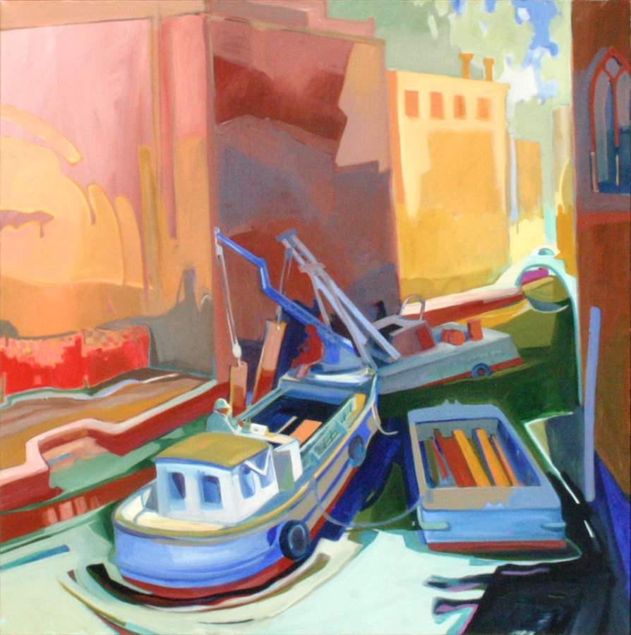 Workboats at Z'altere by  Rez Williams - Masterpiece Online