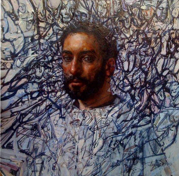 Poet, The by  Daud Akhriev - Masterpiece Online