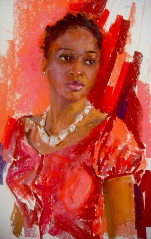 Red Blouse by Mrs. Vishni Gopwani - Masterpiece Online