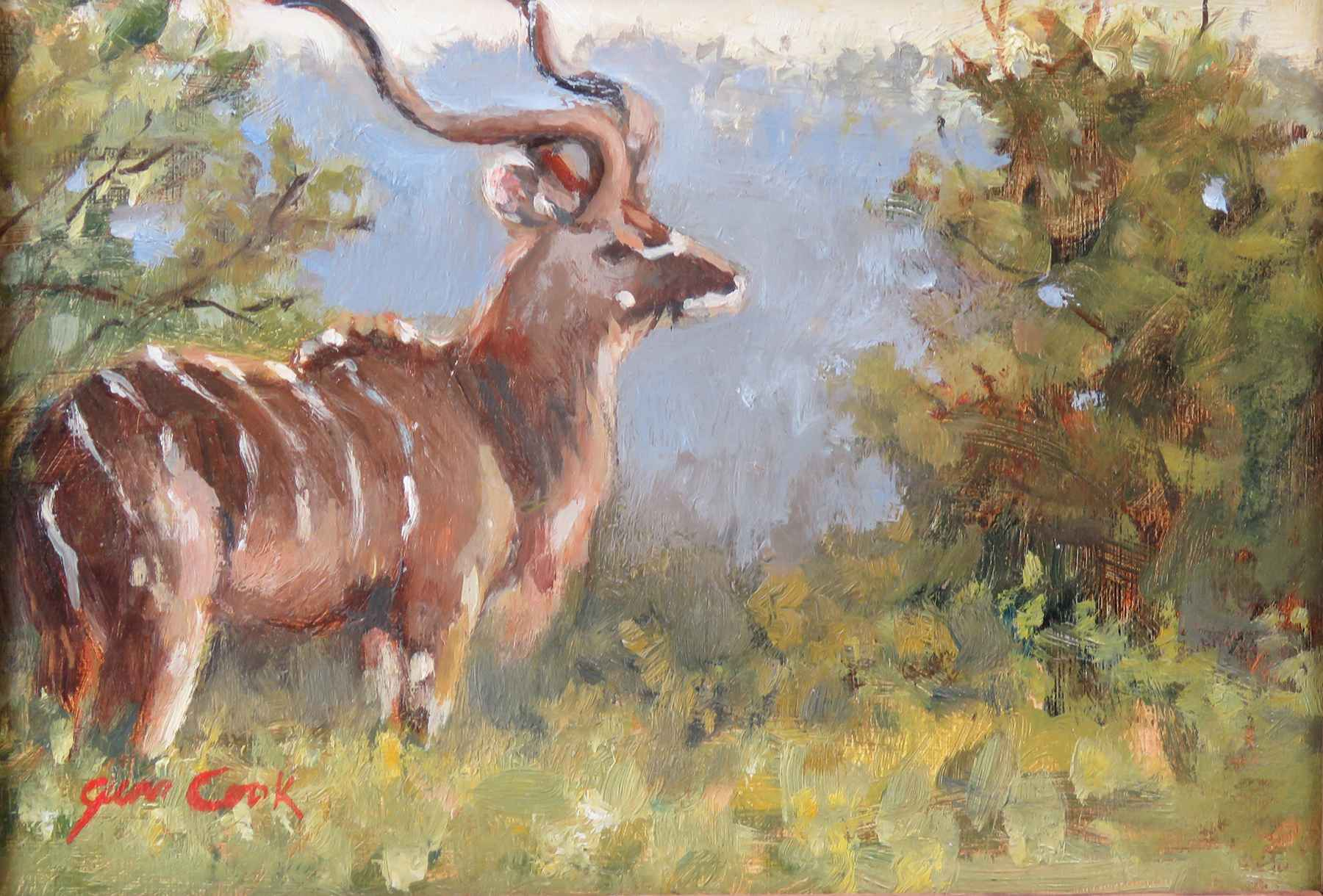 Kudu's to You by  Jean Cook - Masterpiece Online