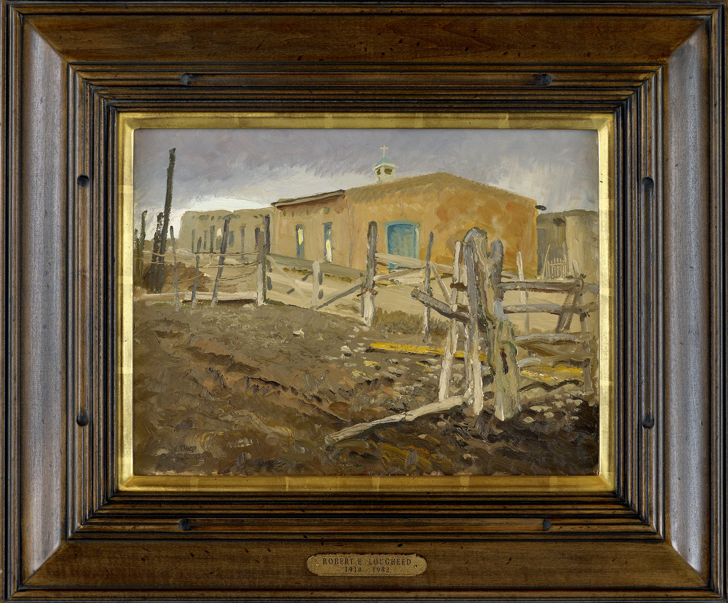 Church in the Mud by  Robert Lougheed - Masterpiece Online