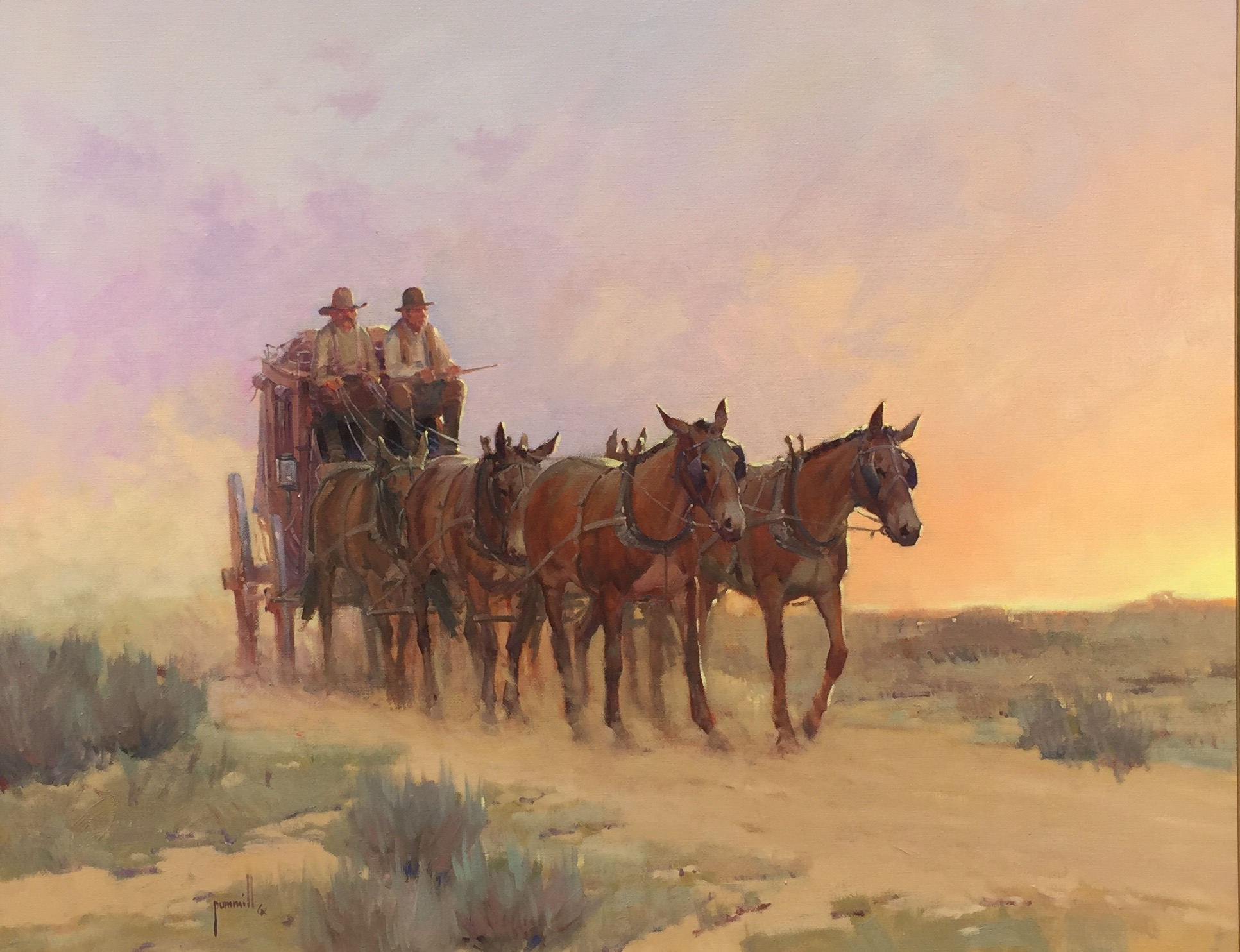 Lavender and Gold by Mr. & Mrs. Robert Pummill - Masterpiece Online