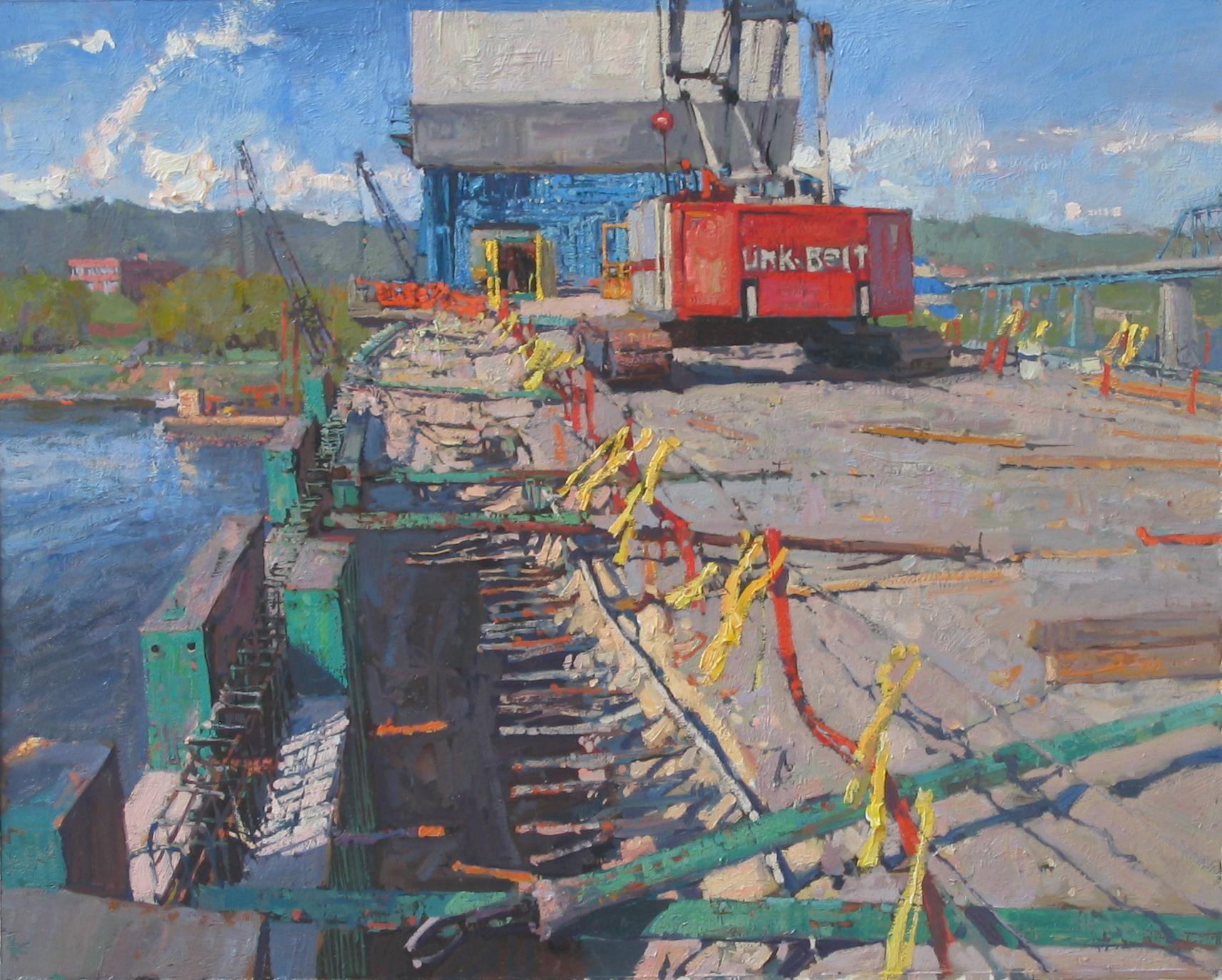 Sunday on the Bridge by  Daud Akhriev - Masterpiece Online