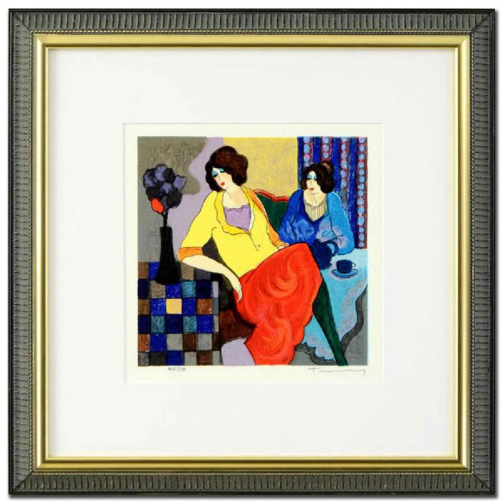 Sisters by  Itzchak Tarkay - Masterpiece Online