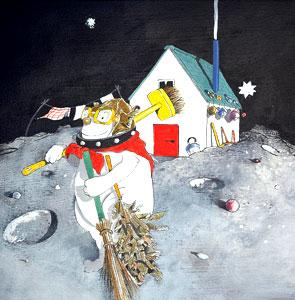 Moondog Sweeps by  John A. Rowe - Masterpiece Online