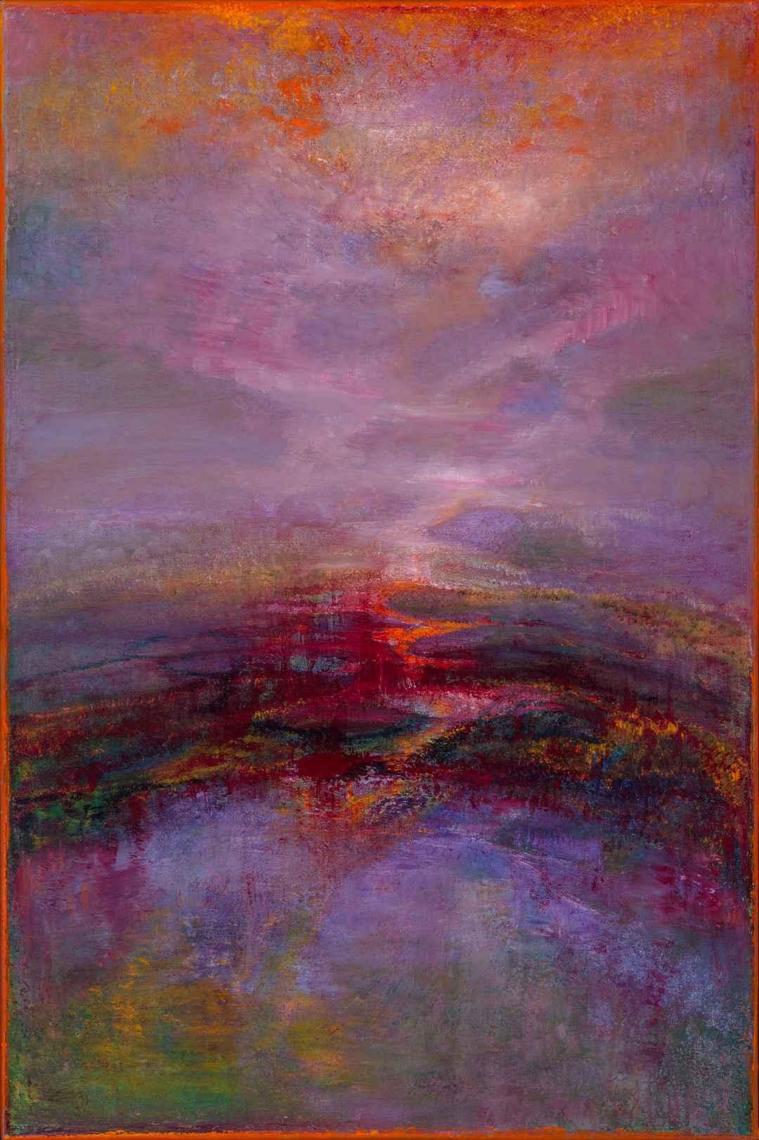 Crimson Reflections by  Patricia Kaufman - Masterpiece Online