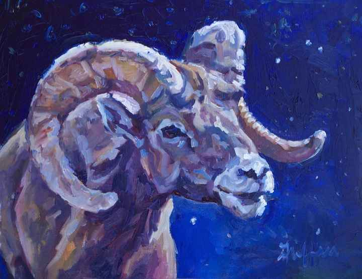 Aries by  Patricia A. Griffin - Masterpiece Online