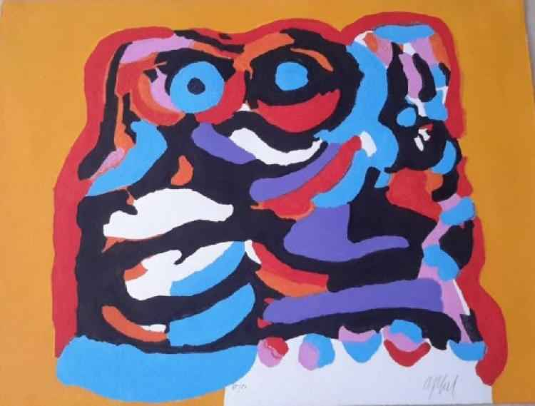 The Yellow Elephant by  Karel Appel - Masterpiece Online