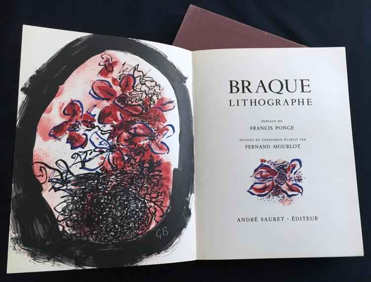 Braque Lithographe by  Georges Braque - Masterpiece Online