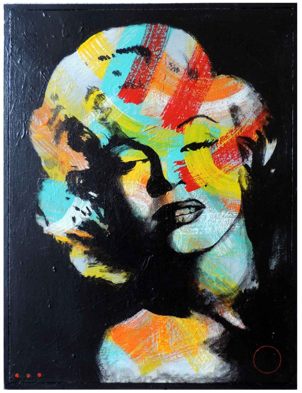 Colour on Marylin M by   MÖ - Masterpiece Online