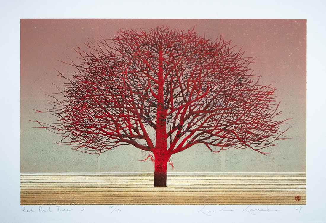Red Red Tree 3 by  Kunio Kaneko - Masterpiece Online