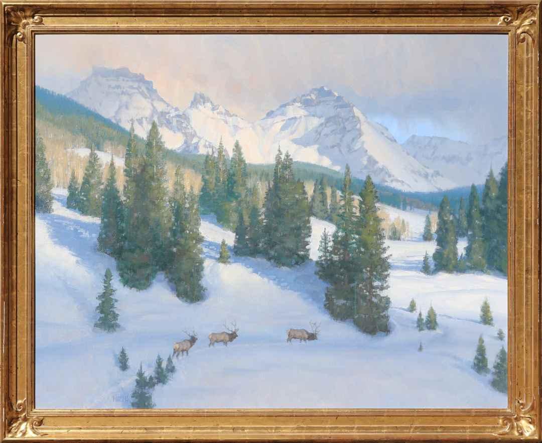 December Sundown by Mr. Wayne Wolfe - Masterpiece Online