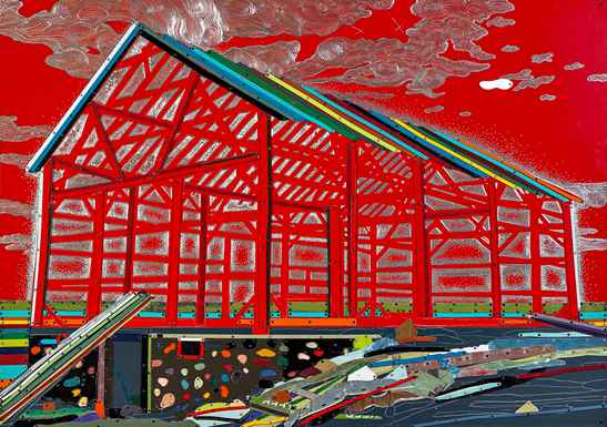 Freakin Candy Barn by  Dave Hind - Masterpiece Online