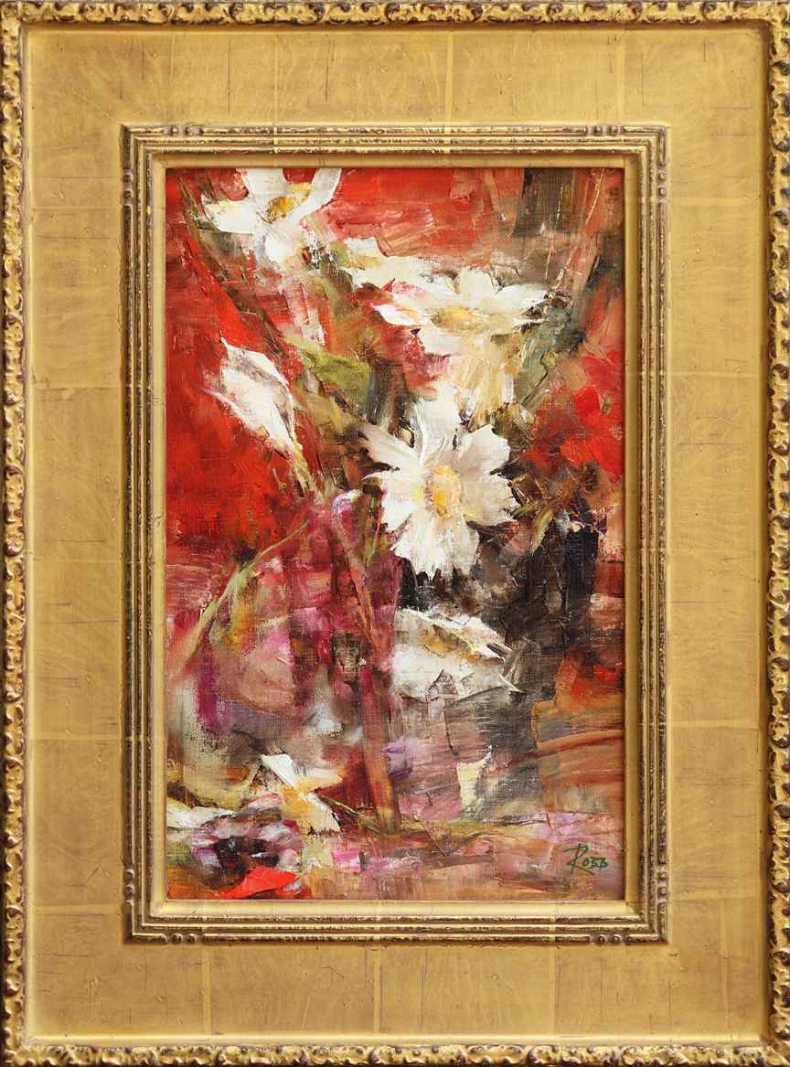 White Cosmos by Ms. Laura Robb - Masterpiece Online