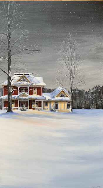 Home For the Holidays by  Janet Liesemer - Masterpiece Online