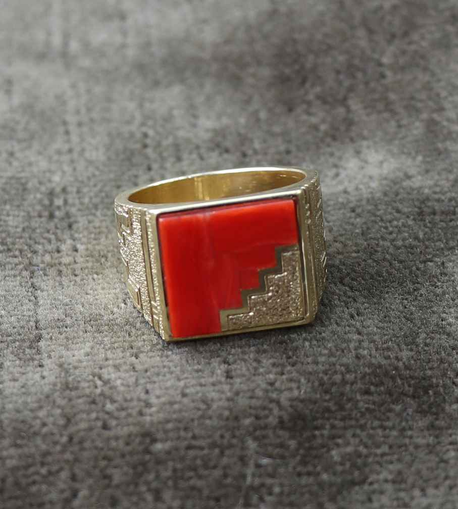 Coral Ring by Mr. Bo Joe - Masterpiece Online