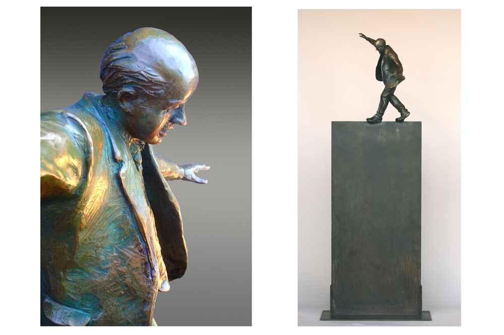 Walking the Tightrope... by  Jim Rennert - Masterpiece Online