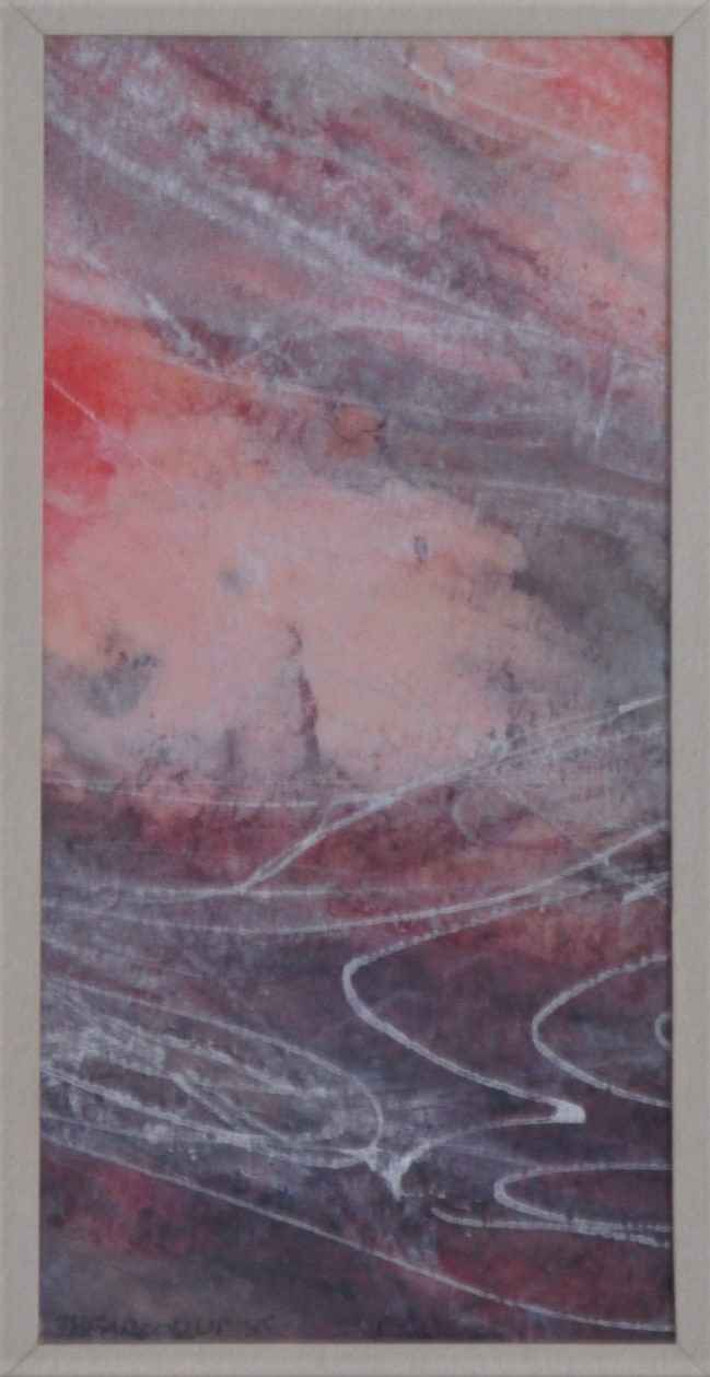 Untitled (pink abstra... by  Joan Farooqui - Masterpiece Online