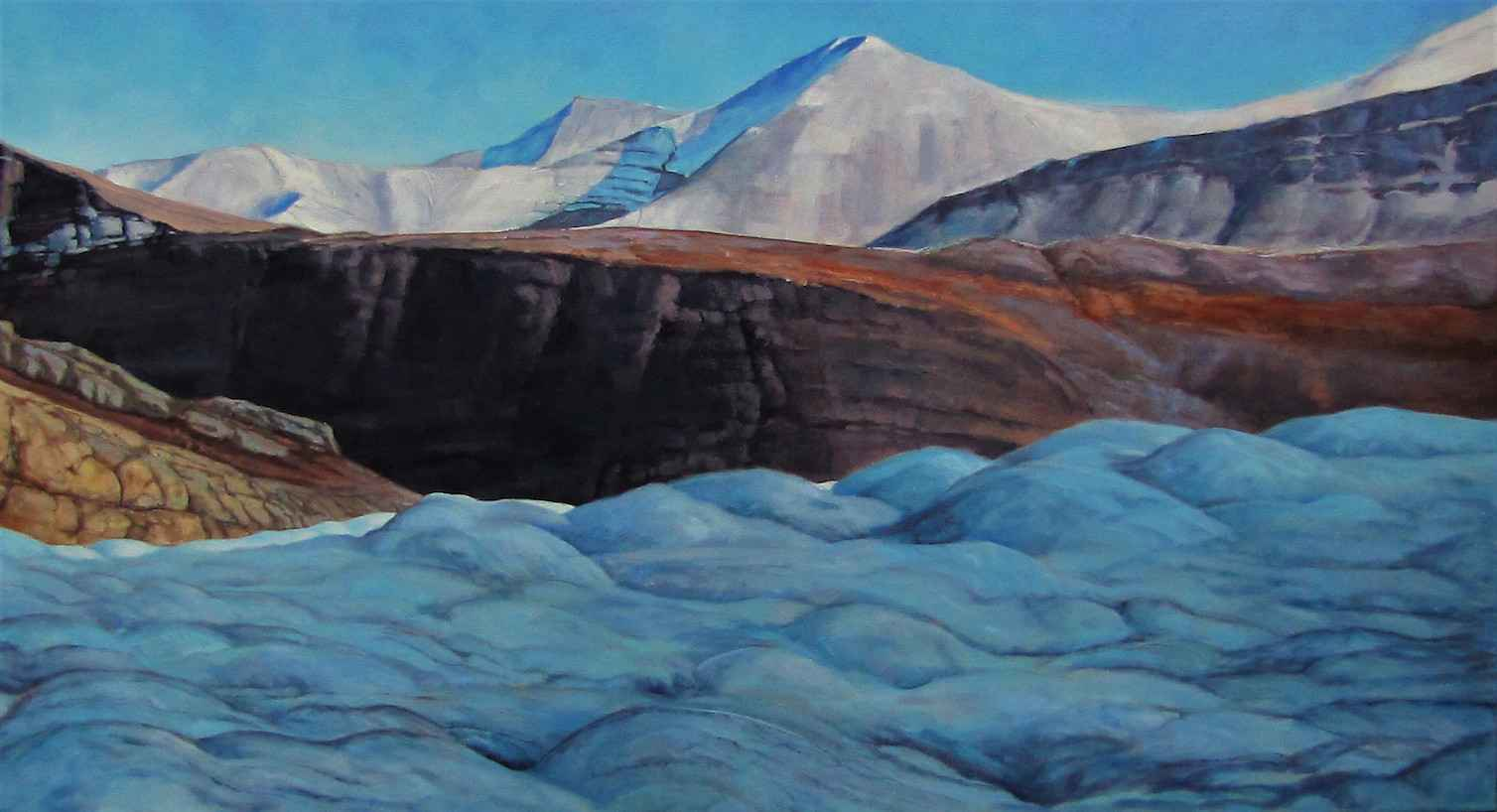 Top of the Glacier by  Carl Schlademan - Masterpiece Online