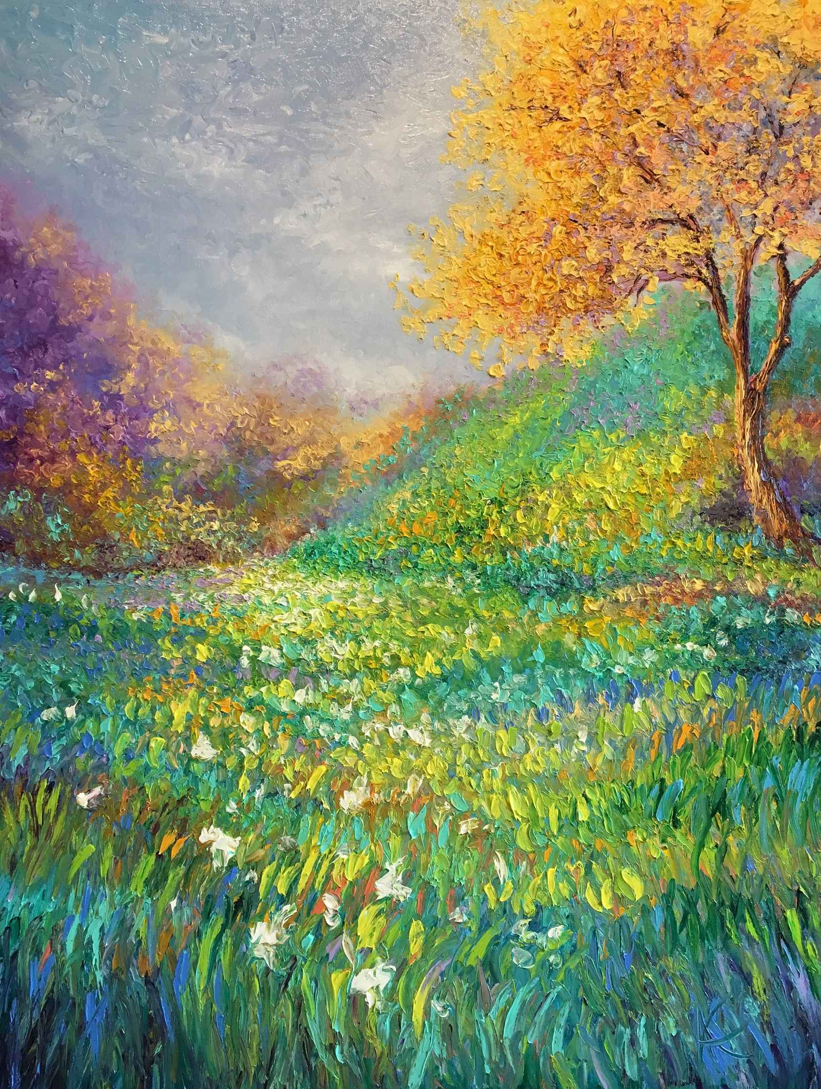 Field of Color by  Kimberly Adams - Masterpiece Online