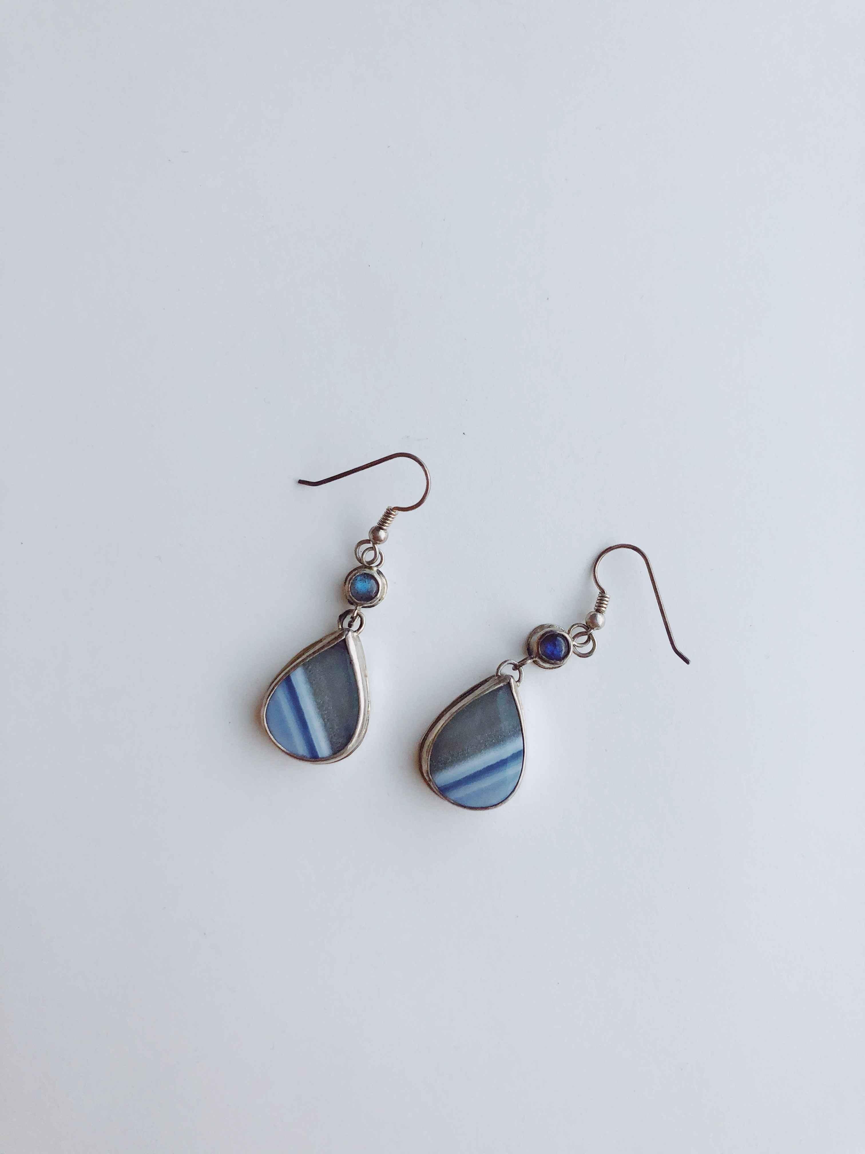 Teardrop Opal Wood Ea... by  Cathy Miller - Masterpiece Online