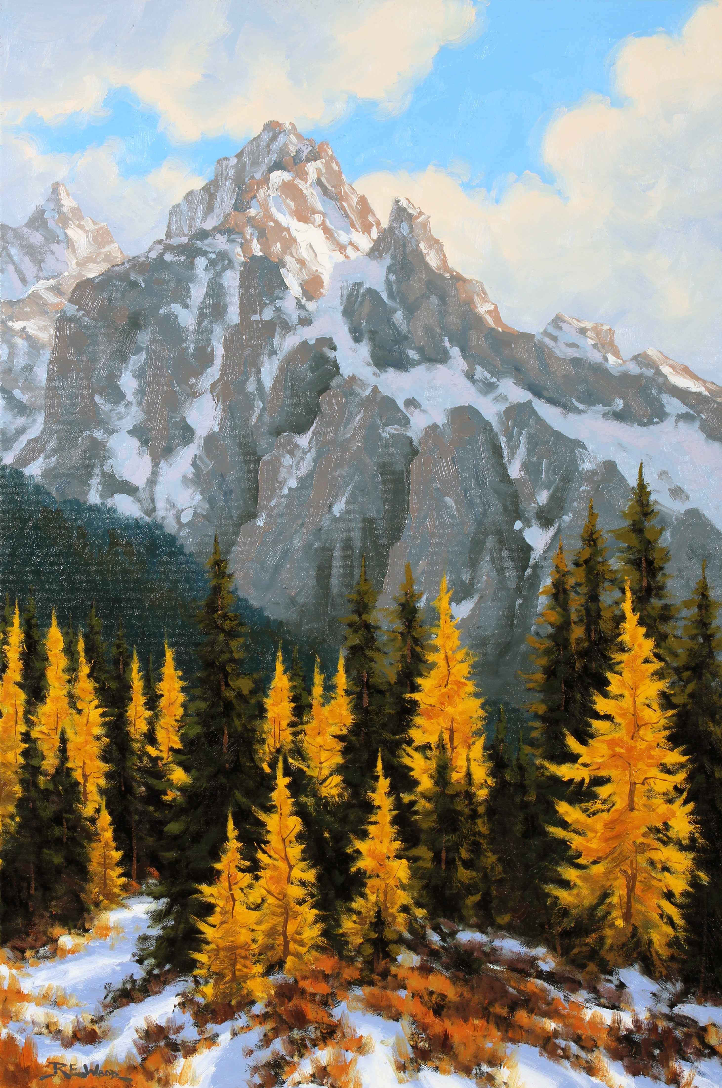 Highwood Larch  by  Robert E. Wood