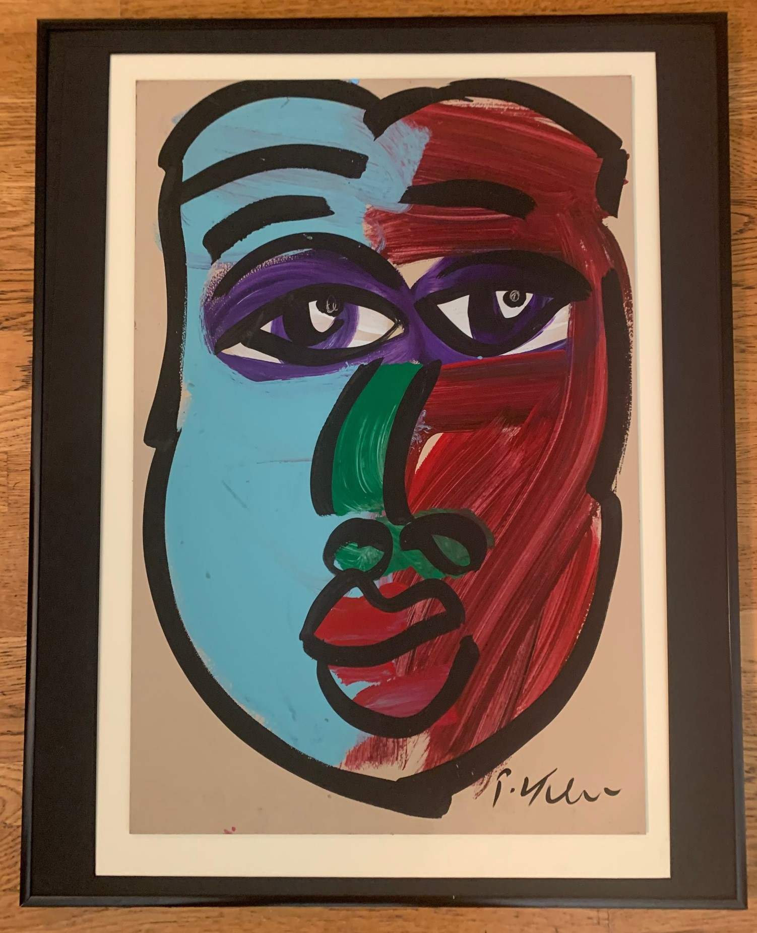 Untitled Face by  Peter Robert Keil - Masterpiece Online